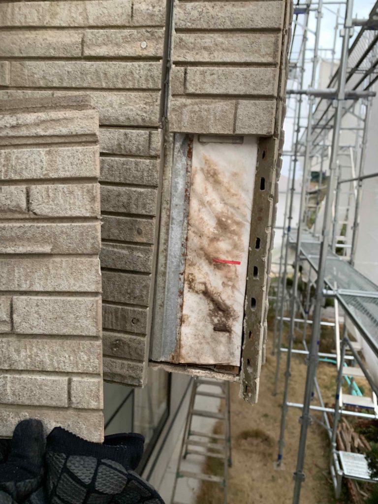 外壁補修工事 御船町K様邸