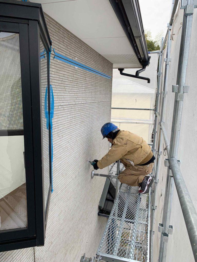 外壁補修工事 3日目 御船町K様邸