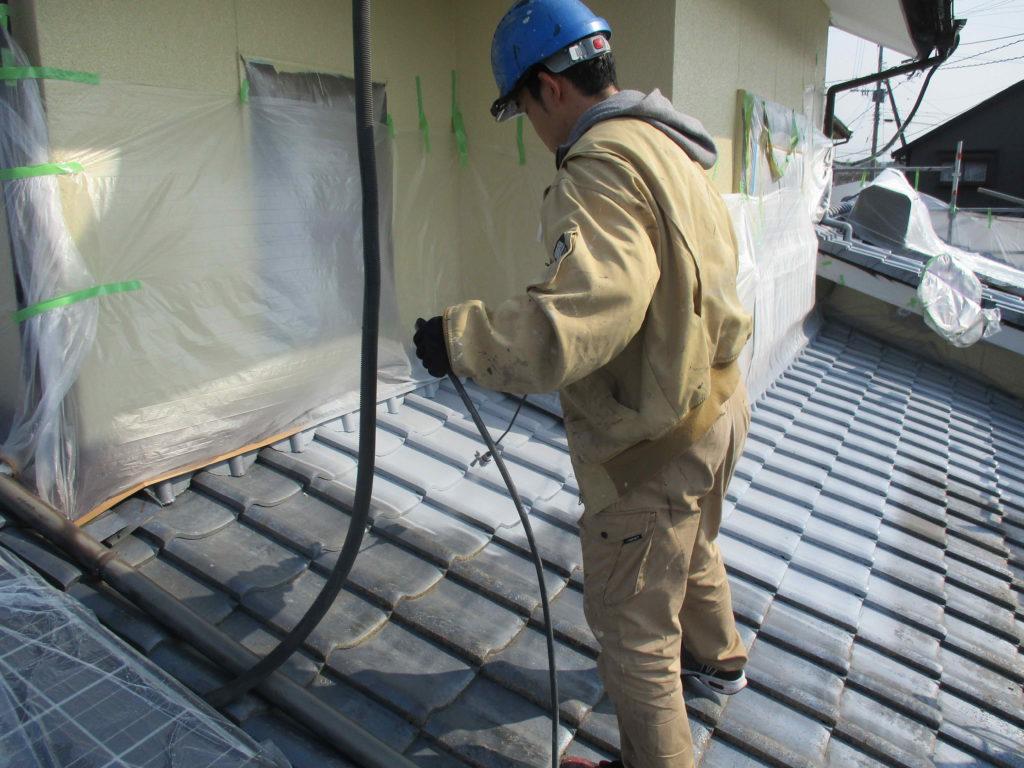 菊陽町K様邸 屋根塗装