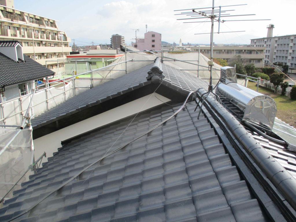 熊本市東区U様邸 屋根塗装