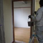 熊本市東区H様 貸家内部塗装