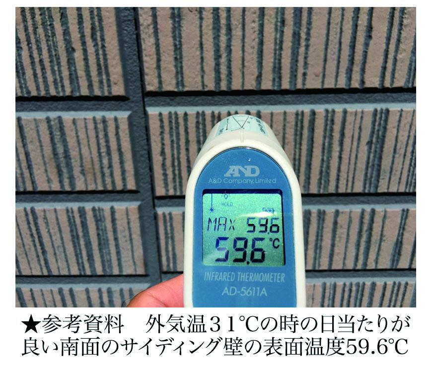 住宅の暑さ対策と塗装について