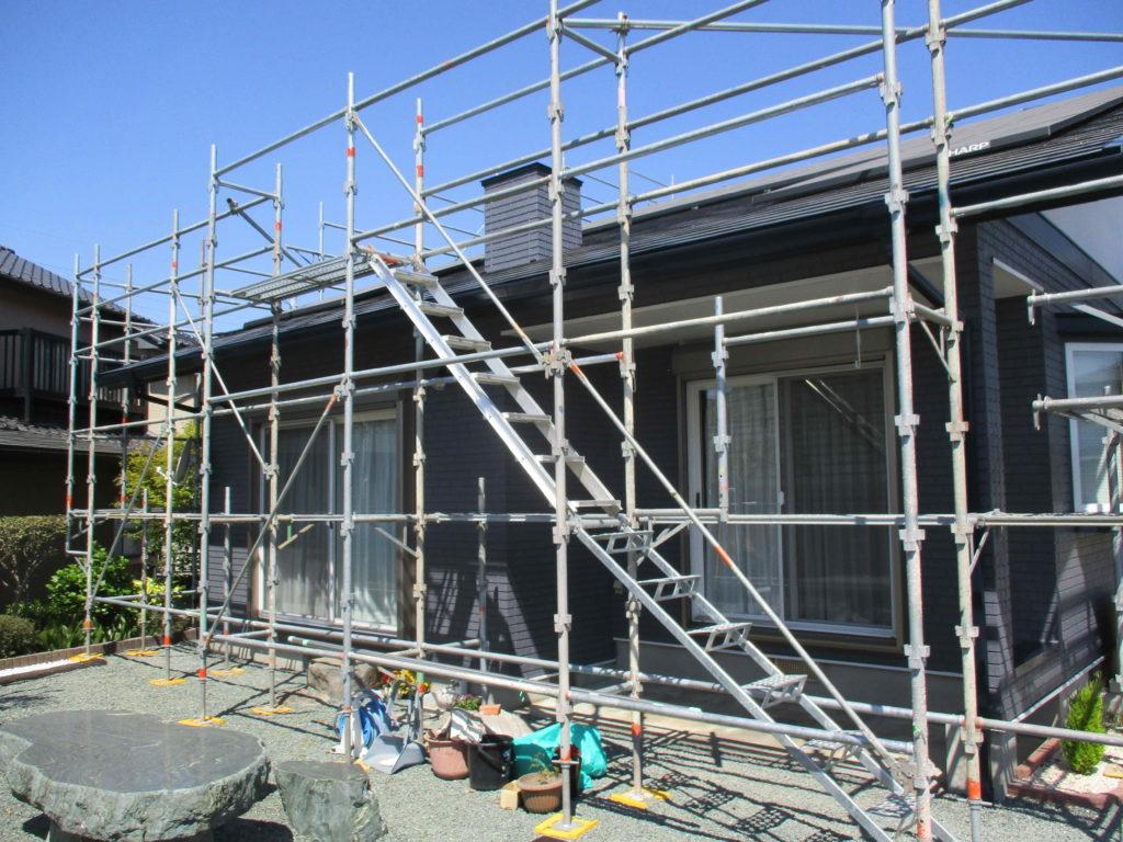 大津町S様邸 塗装完了