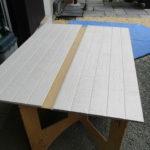 屋外暴露耐候性実験用 試験板製作