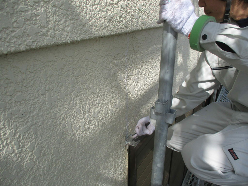 熊本市東区T様邸 外壁補修工事