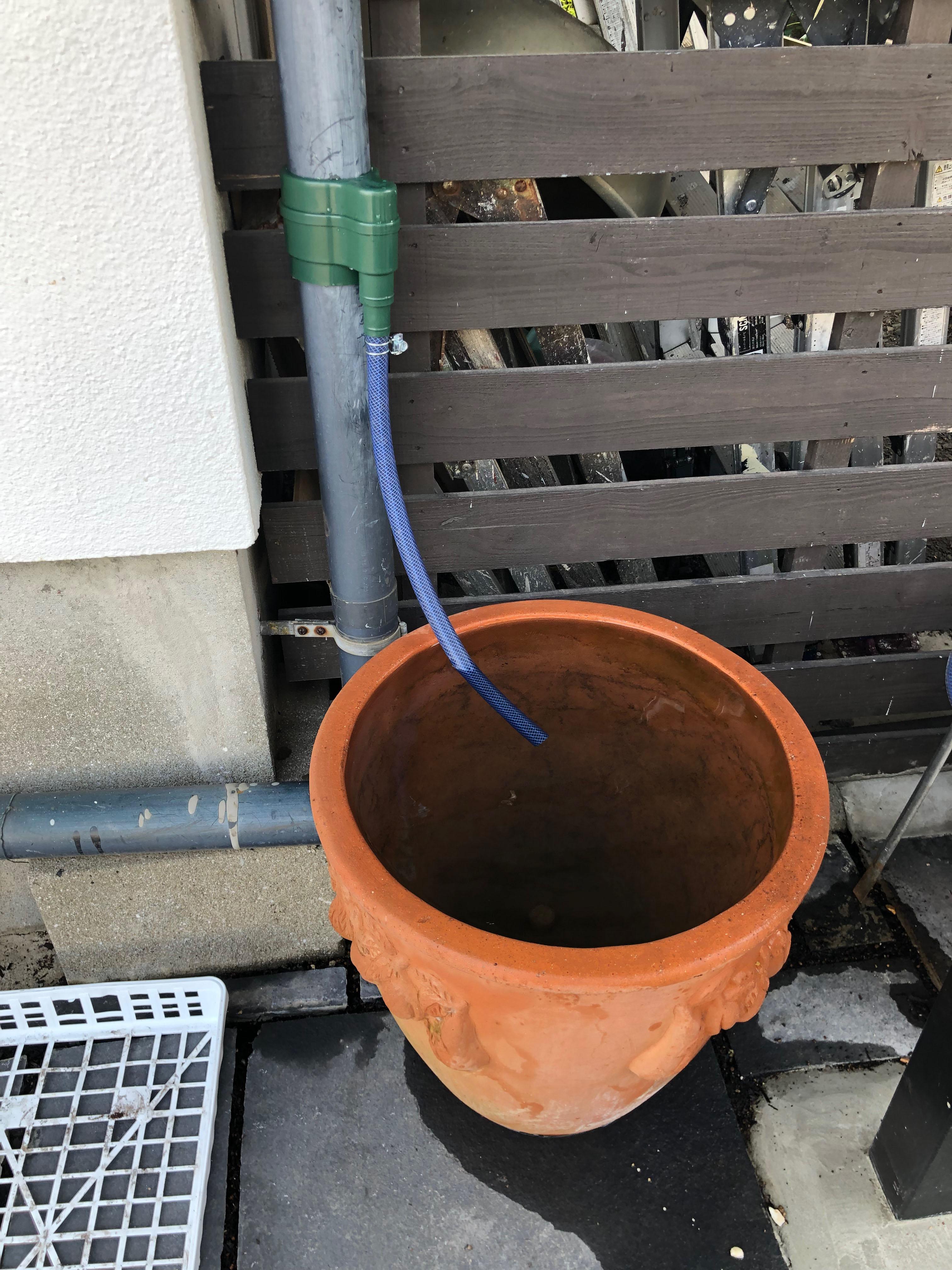簡易雨水タンク
