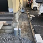犬走りコンクリート