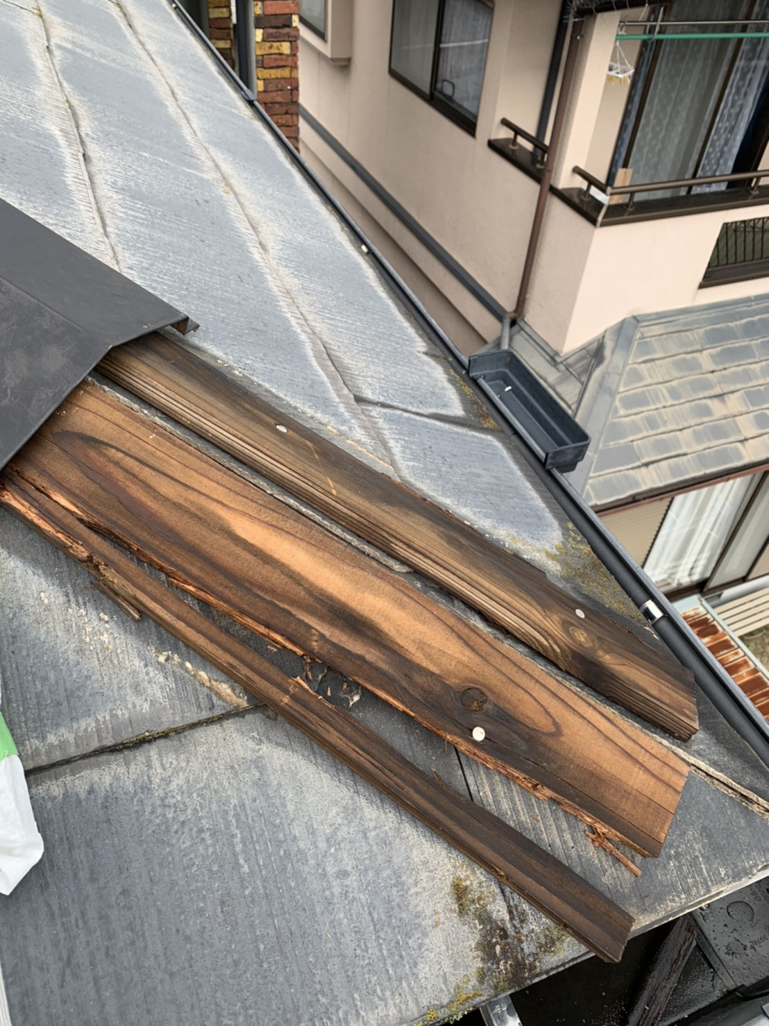 屋根板金の修理