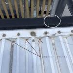 住宅屋根の雨漏れ
