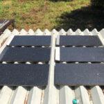 屋根用遮熱塗料 ブラック(黒)の検証