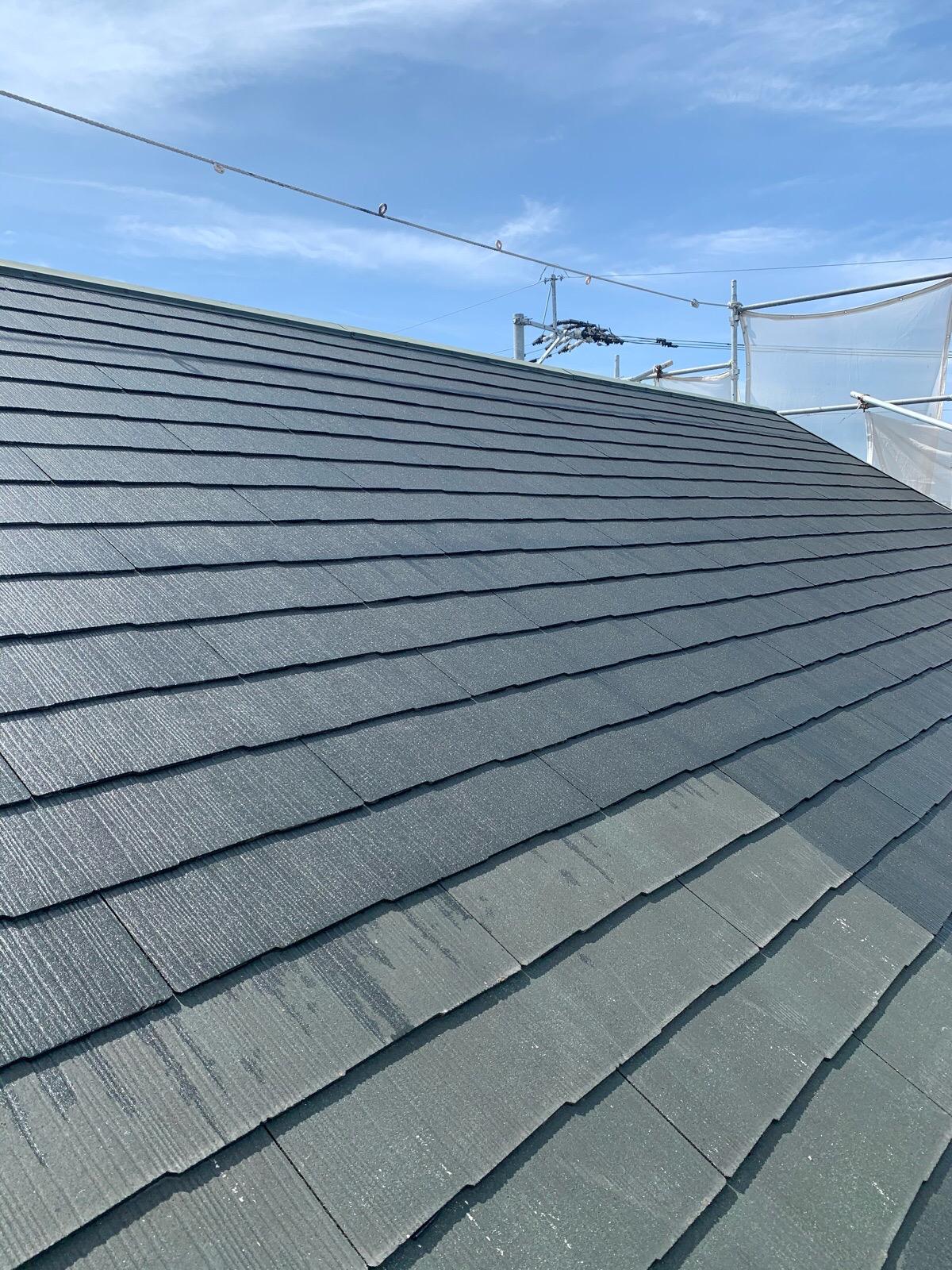 屋根プライマー工事
