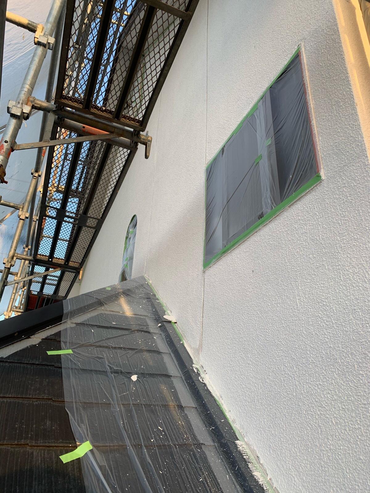 外壁フィラー工事