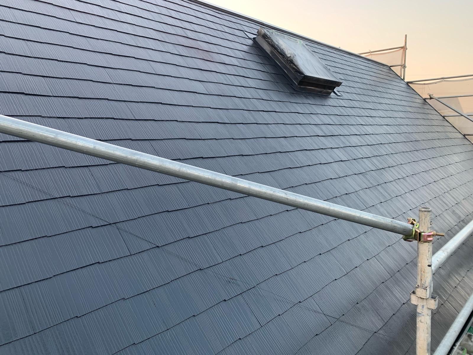 大和町屋根塗装