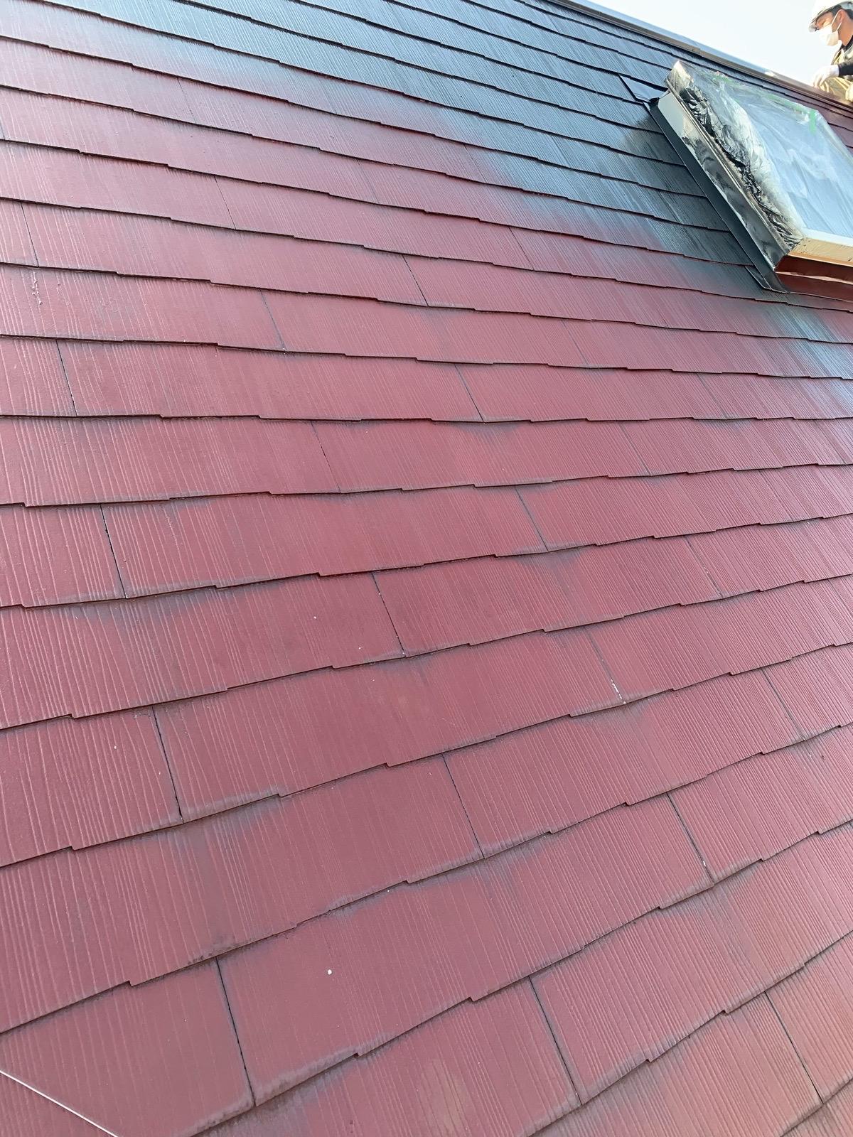 西原村屋根塗装