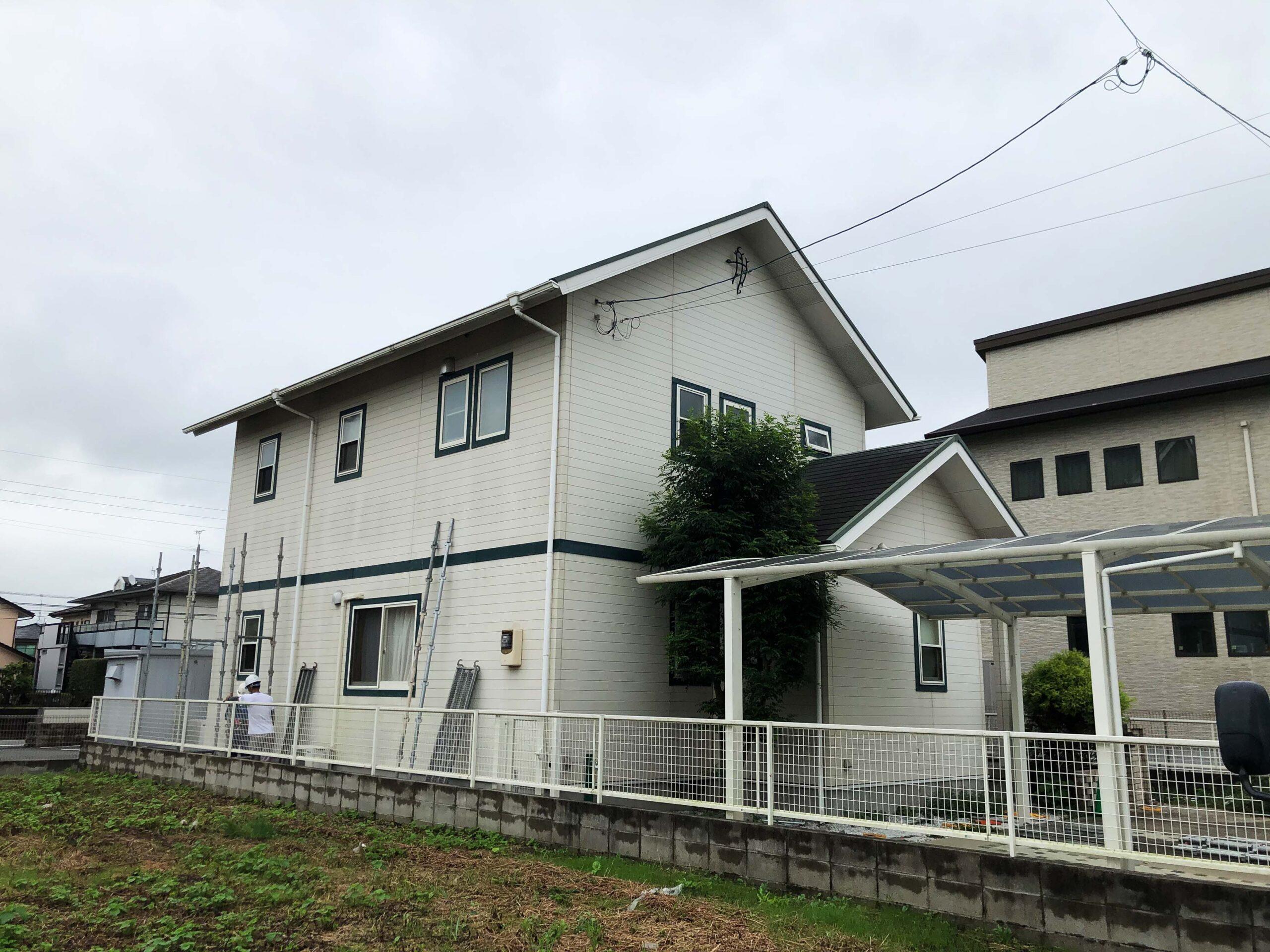 菊陽町 K様邸塗装