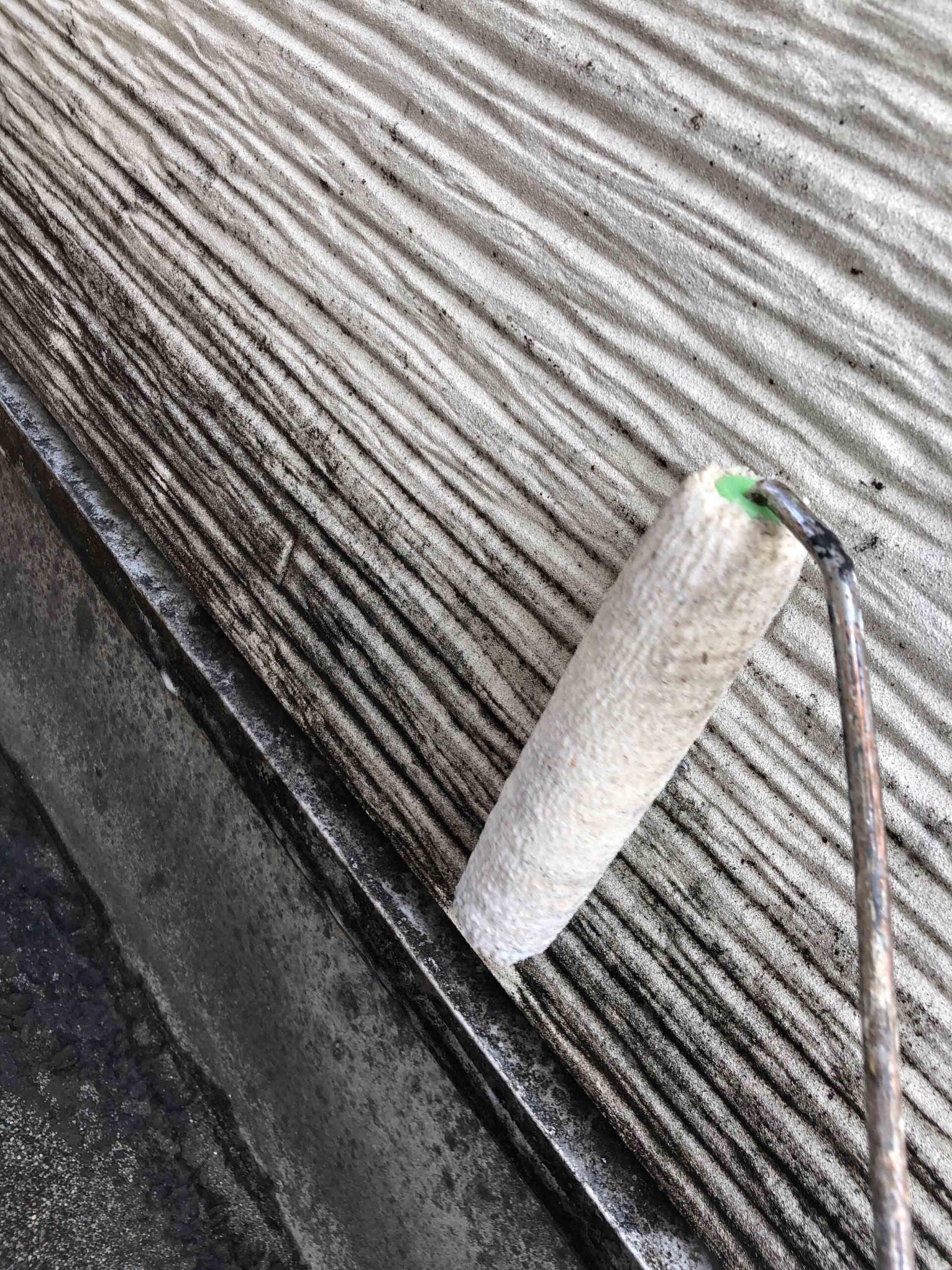 サイディング壁 藻・カビ除去工事