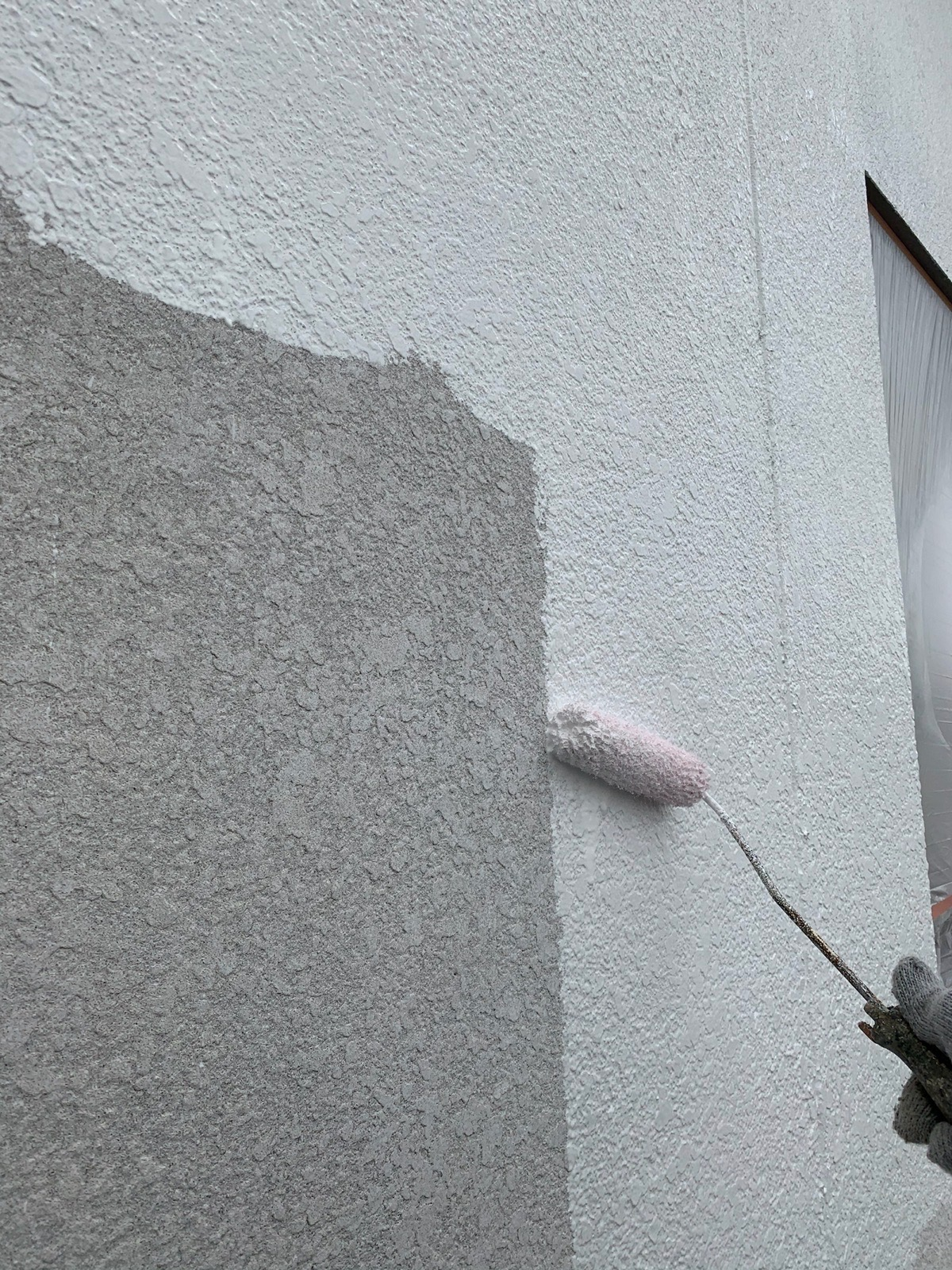 プライマー塗り工事