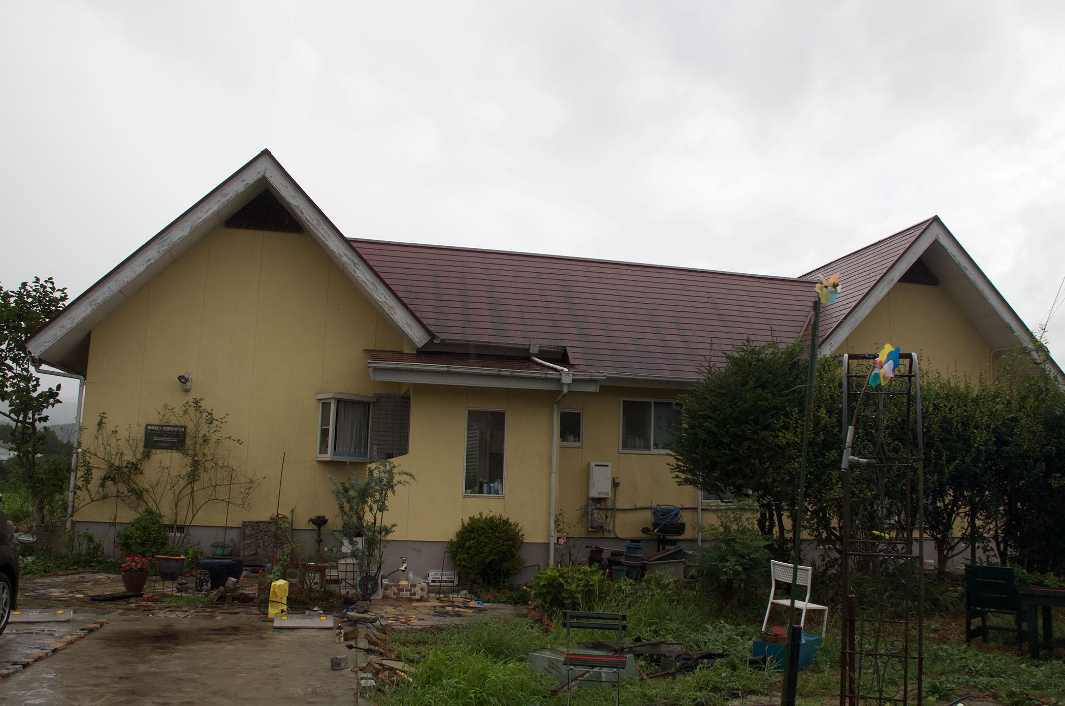 西原町 K様邸塗装