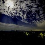 瀬の本高原の夜