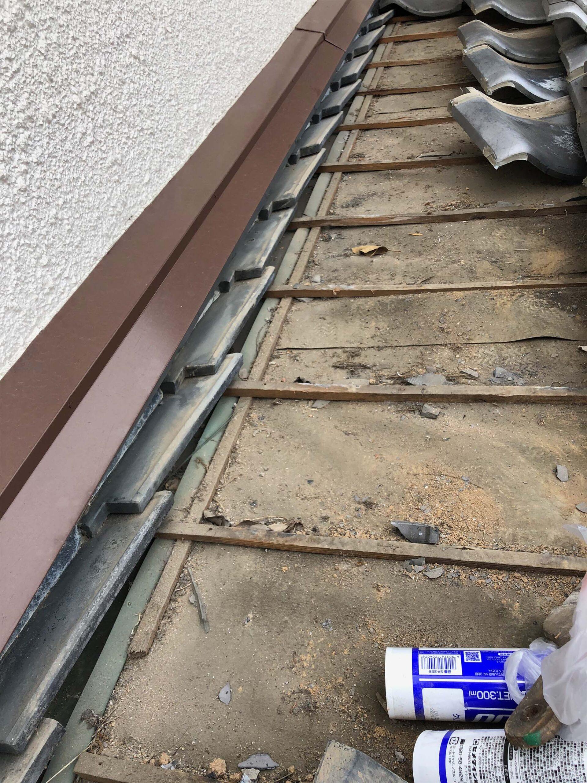 屋根雨漏れ修理